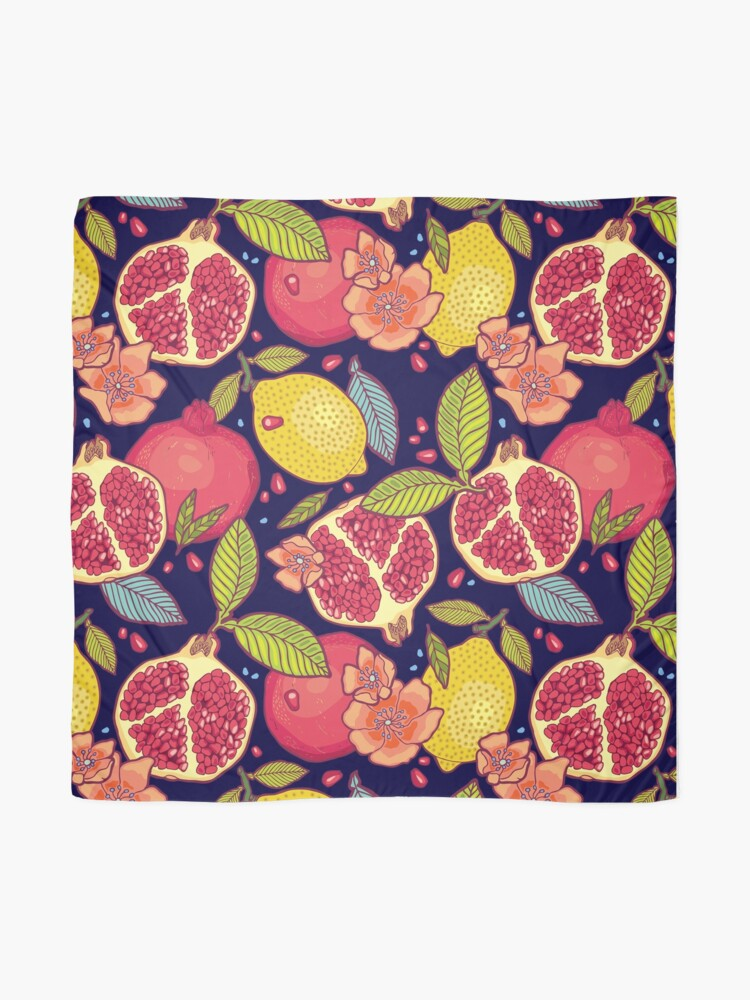 Alternate view of Mysterious tropical garden. Scarf