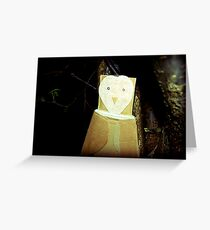 sky owl  Greeting Card
