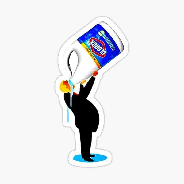 Donald Trump Clorox Disinfectant Bleach Sticker