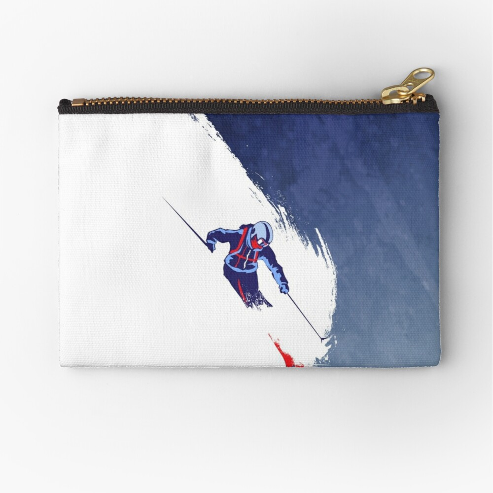 Powder to the People Zipper Pouch