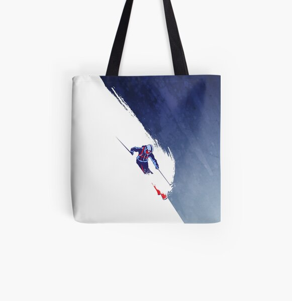 Powder to the People All Over Print Tote Bag