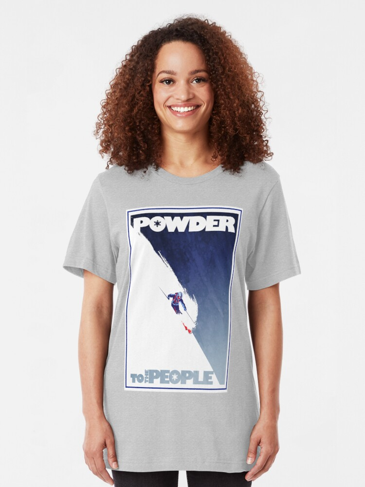 Alternate view of Powder to the People Slim Fit T-Shirt