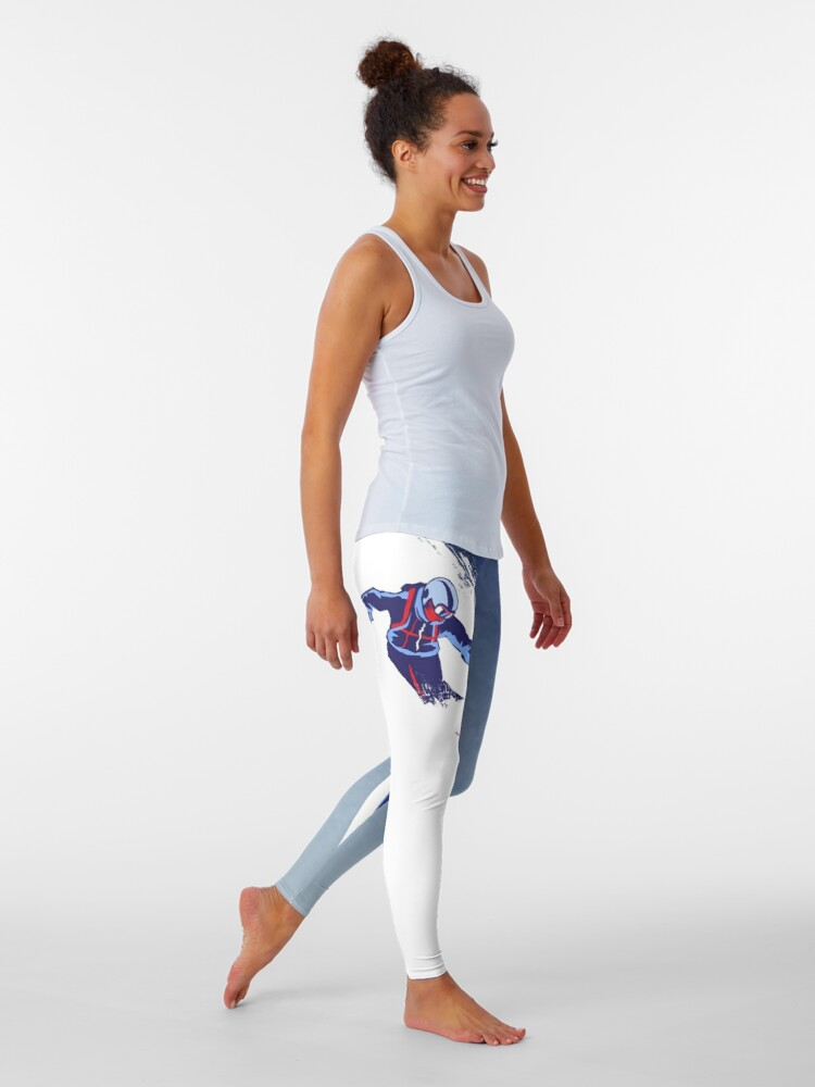 Alternate view of Powder to the People Leggings