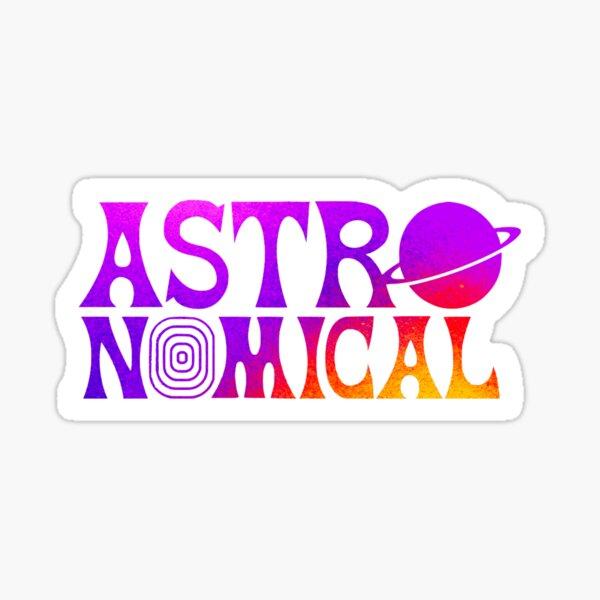 Astronomique Travis Scott Sticker