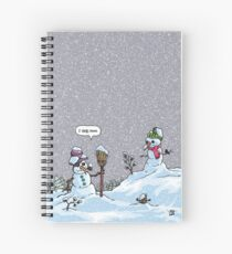 I HATE SNOW Spiral Notebook