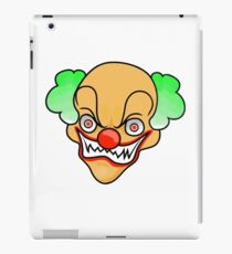Scary clown  iPad Case/Skin