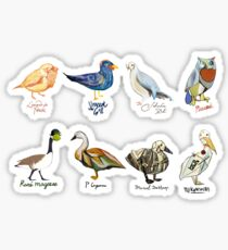 Art Fowl Sticker