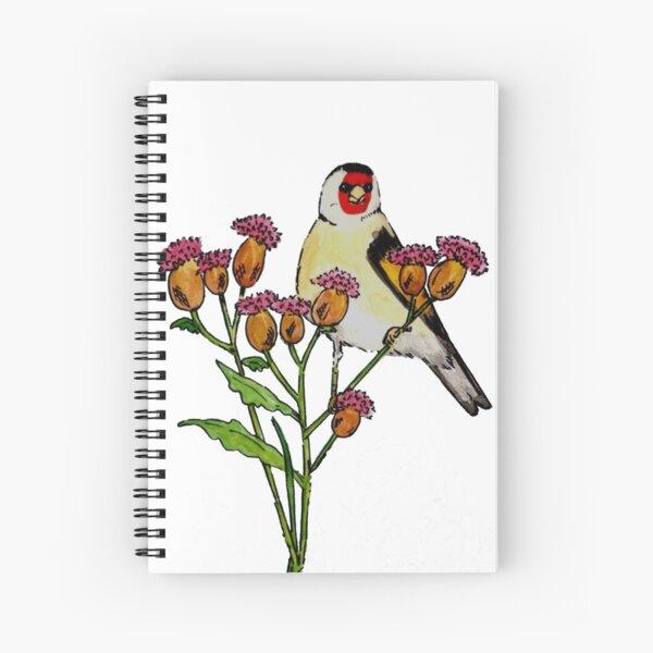 Goldfinch Spiral Notebook