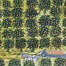 THE ORANGE WAGON by Thomas J Norbeck