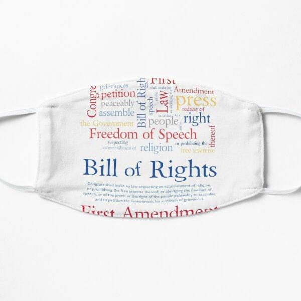 Freedom of Speech First Amendment Bill of Rights Mask