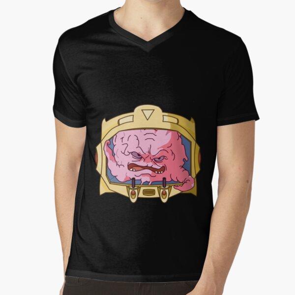 krang V-Neck T-Shirt