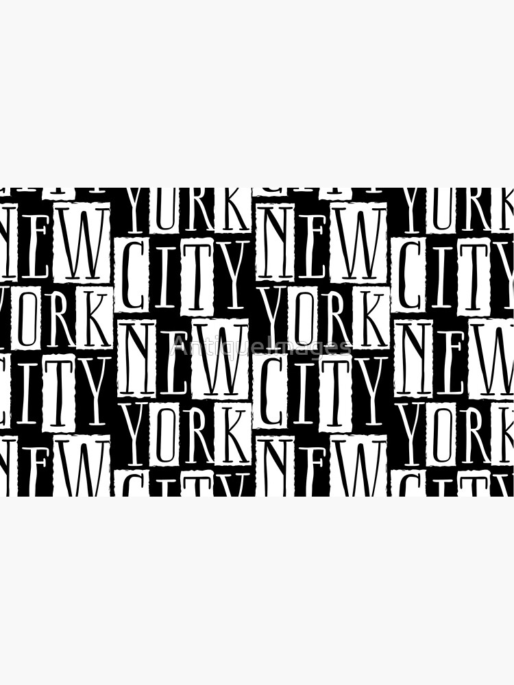 New York City Funky Modern Design by AntiqueImages
