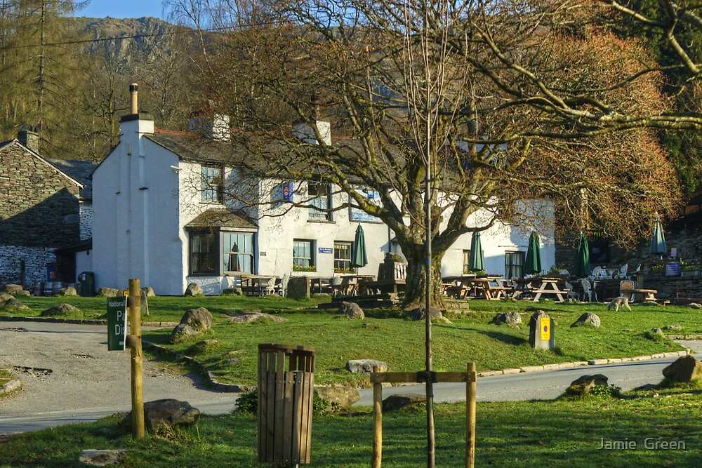 The Pub By The Village Green by Jamie  Green