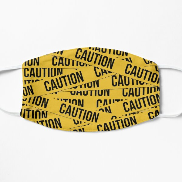 Caution Flat Mask