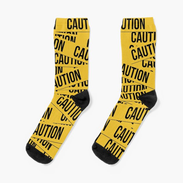 Caution Socks