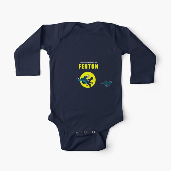 Las aventuras de Fenton Body de manga larga para bebé