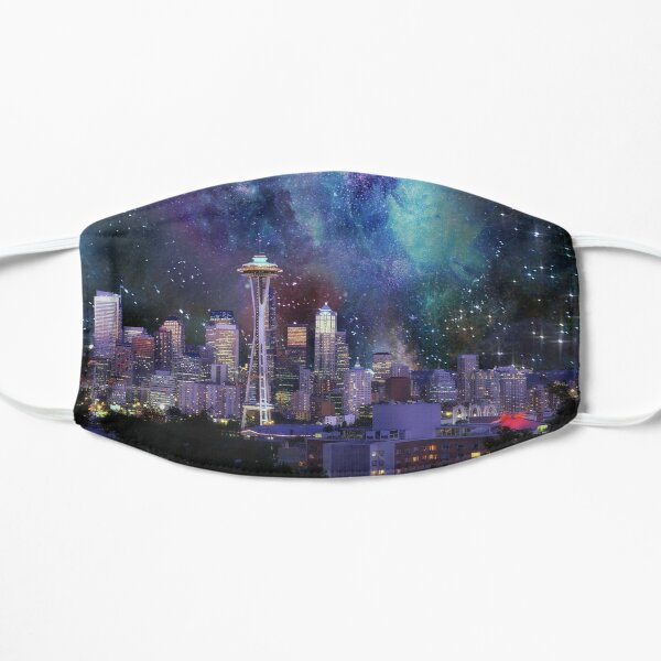 Spacey Seattle  Mask
