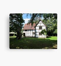 Avoncroft, The Merchants House Canvas Print