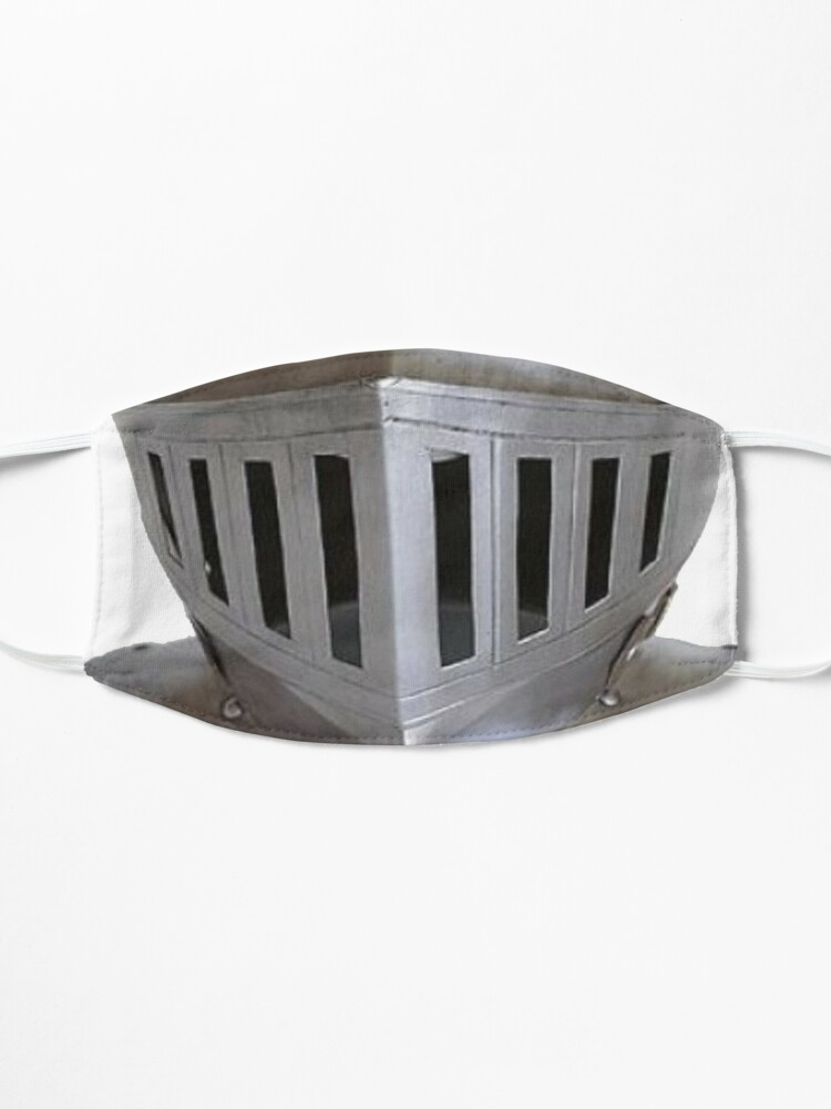Alternate view of Medieval Knight Helmet Face Mask Mask