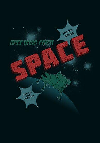 Greetings from Space by perdita00