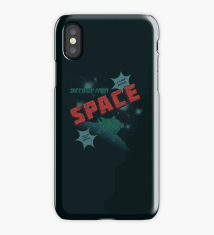 Greetings from Space iPhone Case/Skin