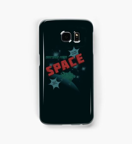 Greetings from Space Samsung Galaxy Case/Skin