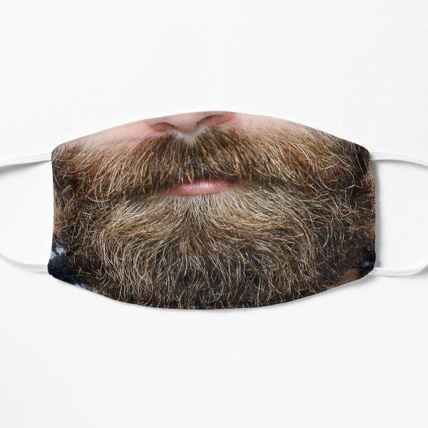 Man Beard Funny Face Mask Facial Hair  Flat Mask
