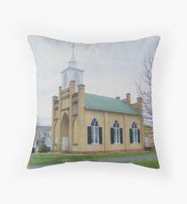 Little Country Church Throw Pillow