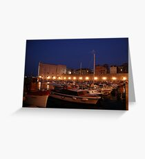 Dubrovnik wharf Greeting Card