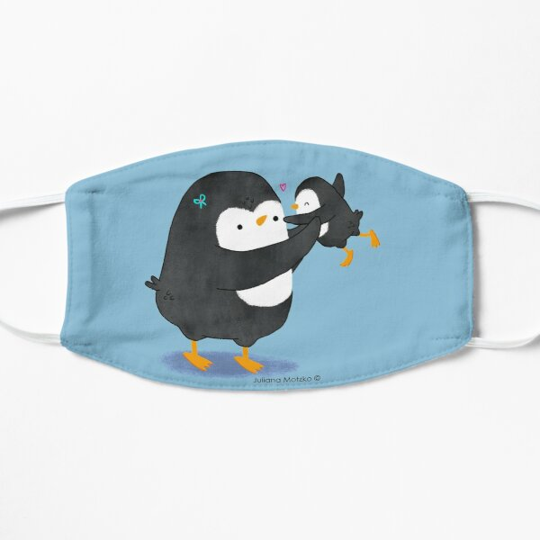 Penguin Mom and Penguin Kid Mask