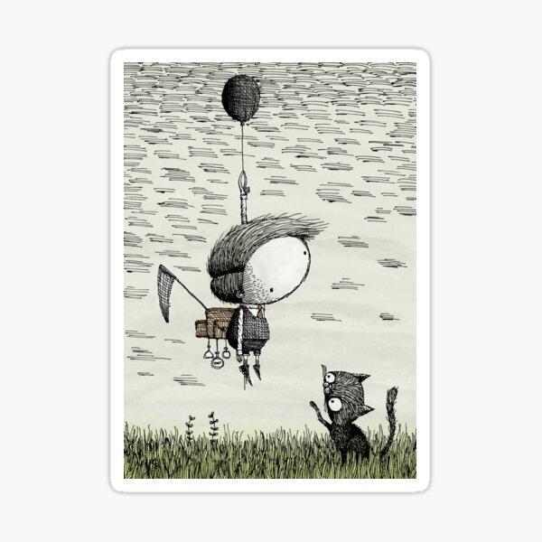 Balloon (Colour) Sticker