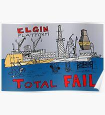 TOTAL FAIL - Epic Binary Options News Cartoon Poster