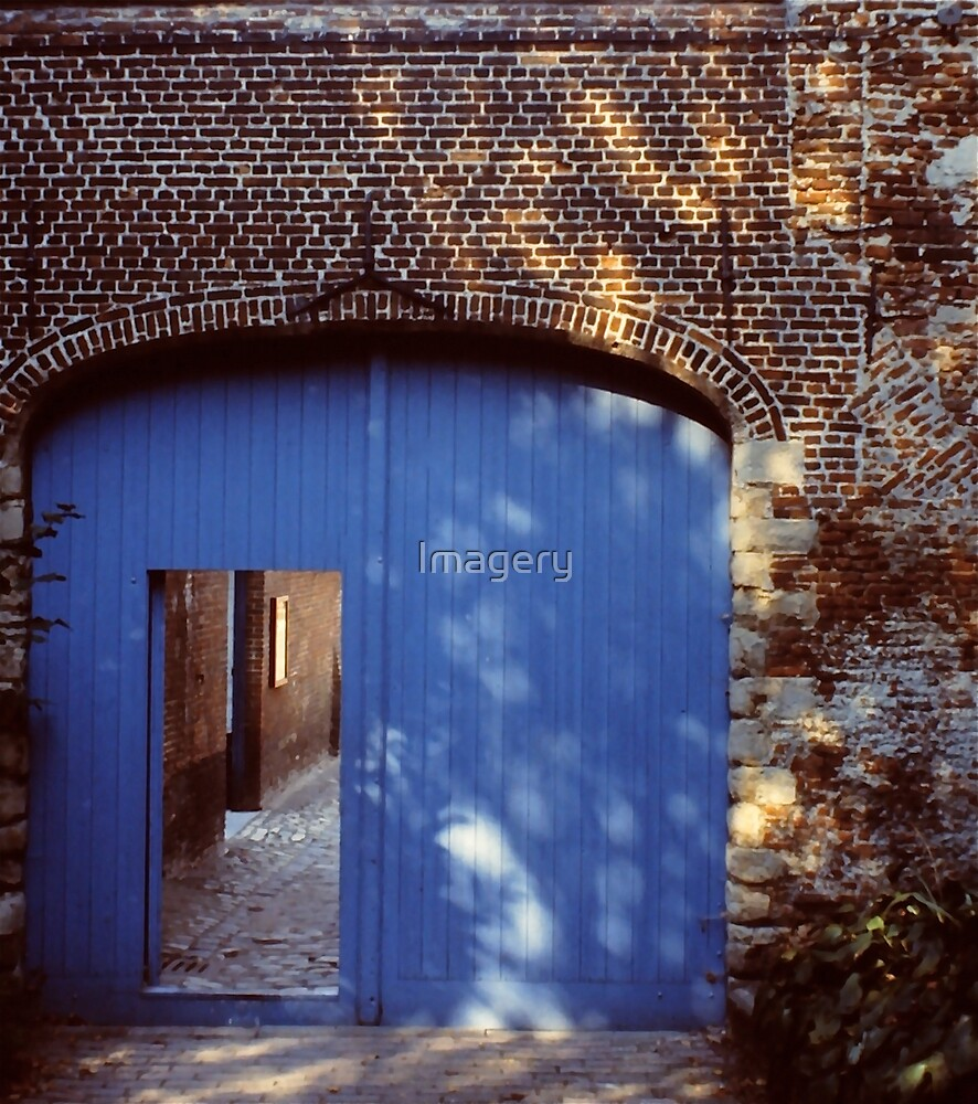 Behind the Blue Door by Imagery
