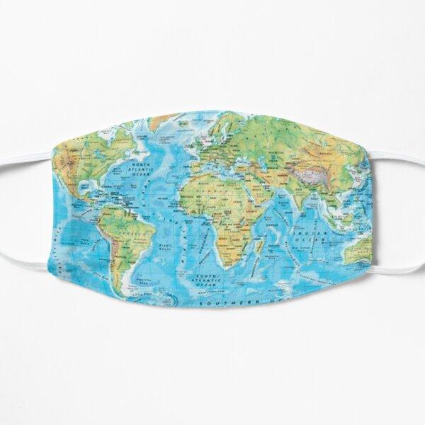 World Map   Atlas Mask