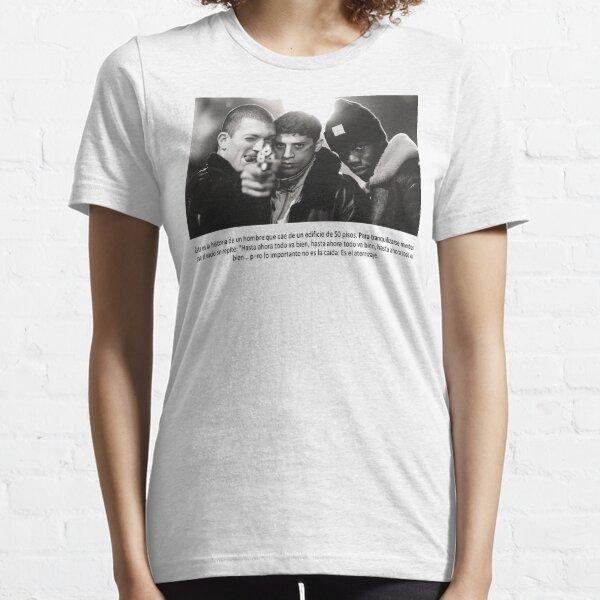 Les protagonistes de La Haine parlent de gangsters Vinz Said Hubert T-shirt essentiel