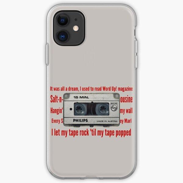 Biggie Smalls Lyrics Tape iPhone Soft Case