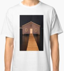 little boatshed on the river Classic T-Shirt