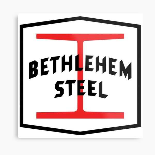 Bethlehem Steel Metal Print