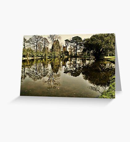 Luscombe Pond Greeting Card