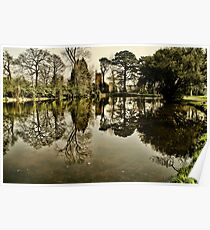 Luscombe Pond Poster