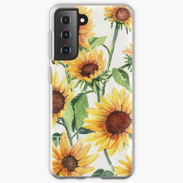 Sunflowers Samsung Galaxy Soft Case