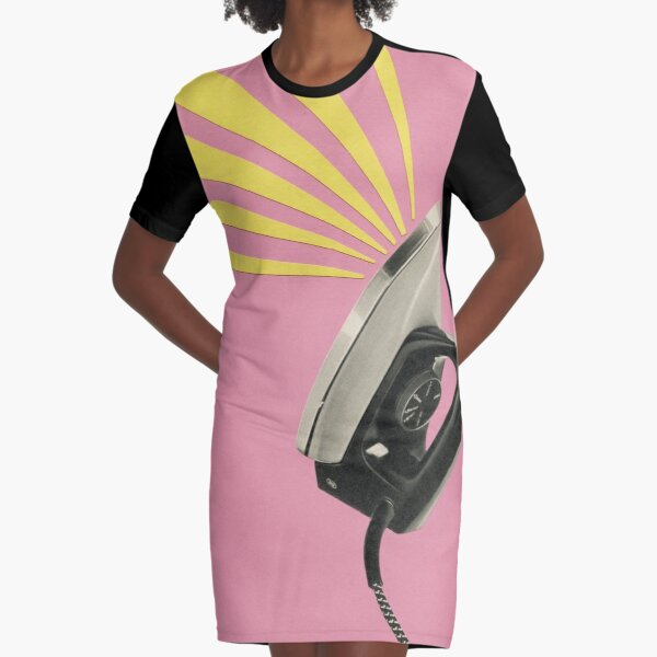 The Art of Ironing Graphic T-Shirt Dress