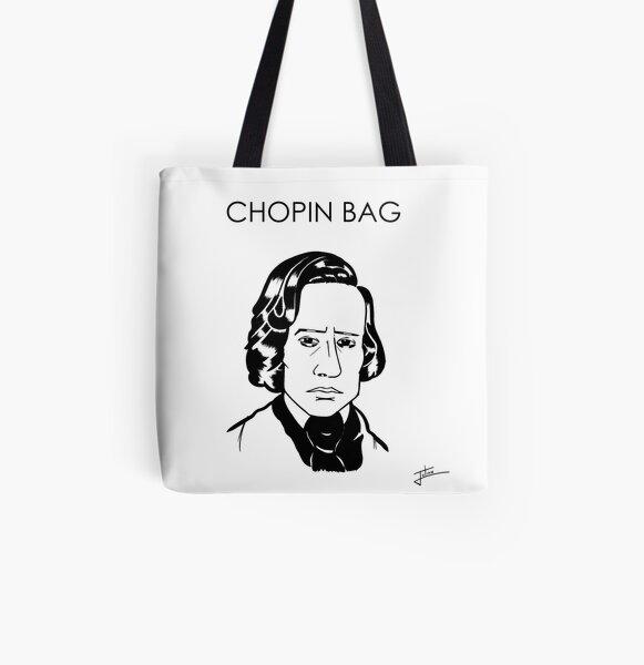 Chopin Bag All Over Print Tote Bag
