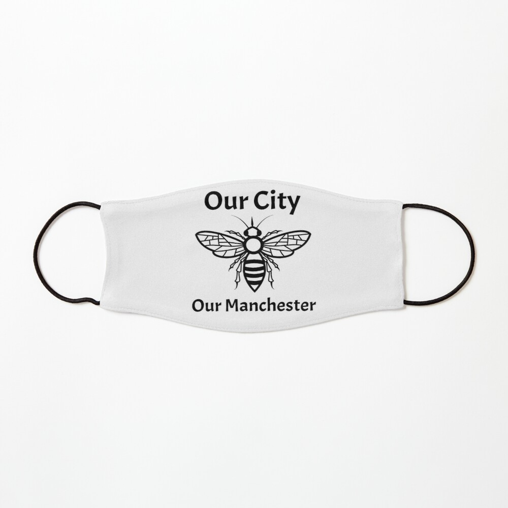 Our City, Our Manchester Bee Mask
