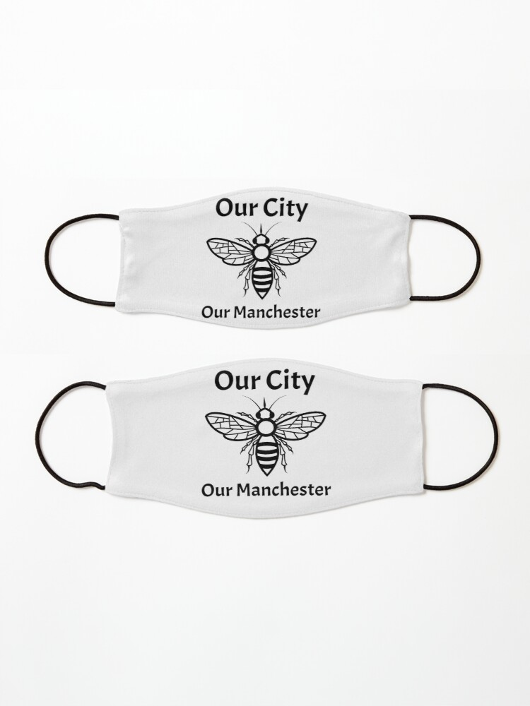 Alternate view of Our City, Our Manchester Bee Mask