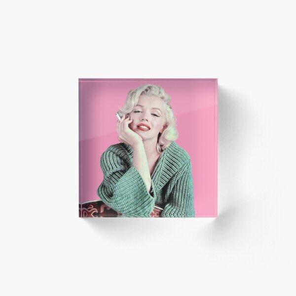 Marilyn Monroe Sticker Acrylic Block