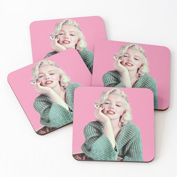 Marilyn Monroe Sticker Coasters (Set of 4)