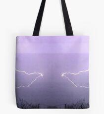 March 19 & 20 2012 Lightning Art 19 Tote Bag