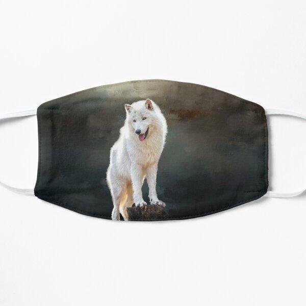 Arctic wolf Flat Mask