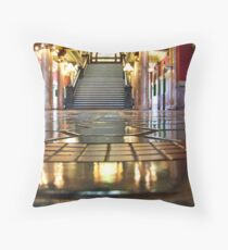 Capitol Lobby (Helena, Montana) Throw Pillow